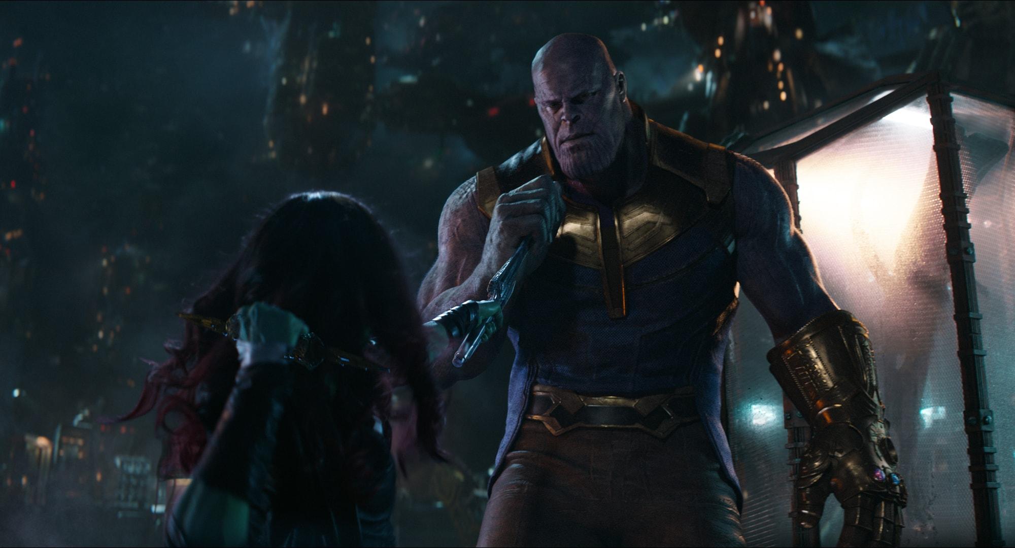 Танос и Гамора