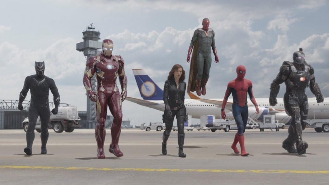 Человек Паук и Мстители