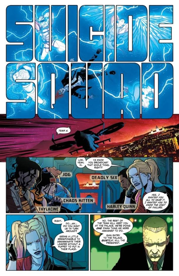 комикс suicide Squad 3