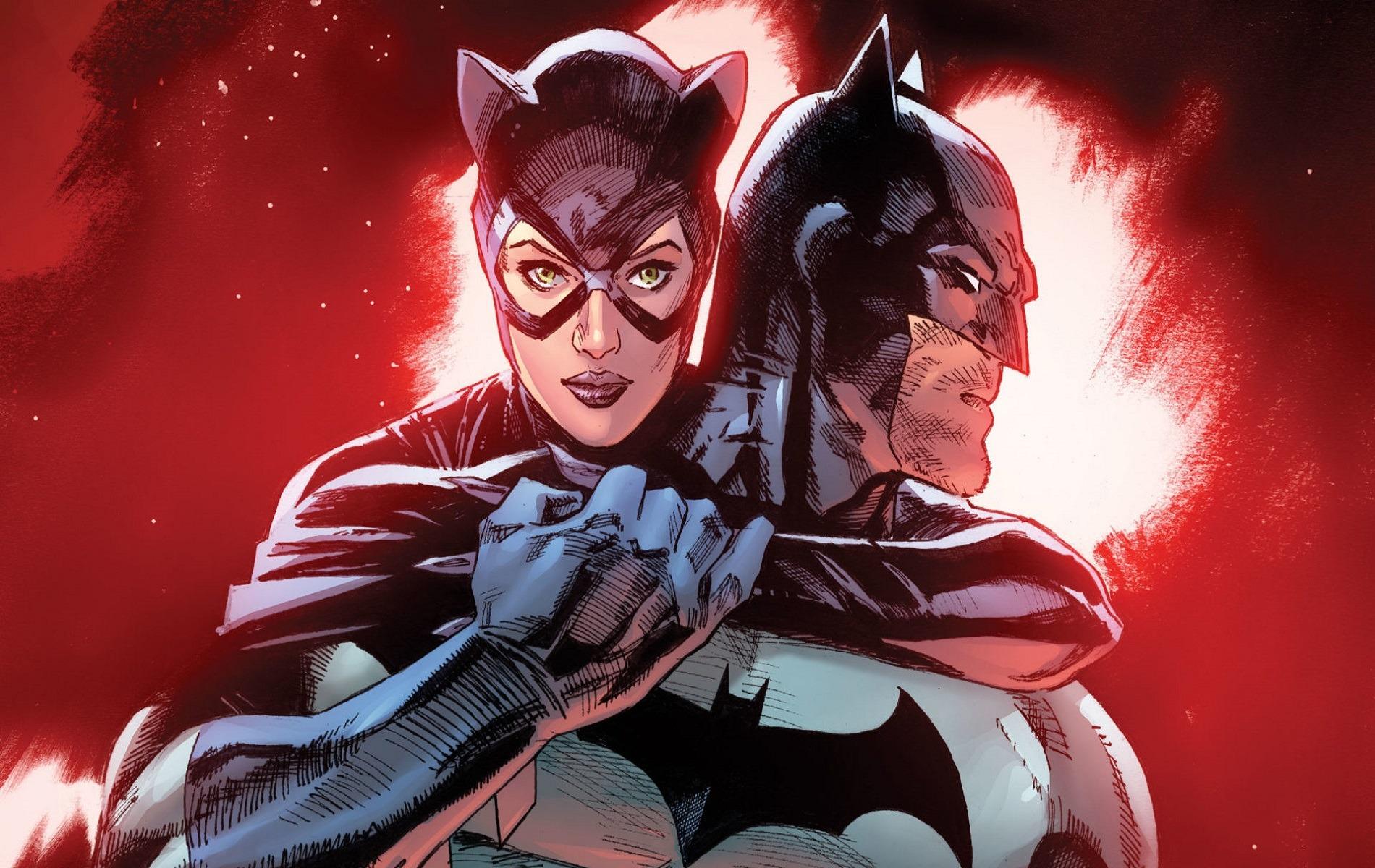 Бэтмен и Женщина-кошка стали парой