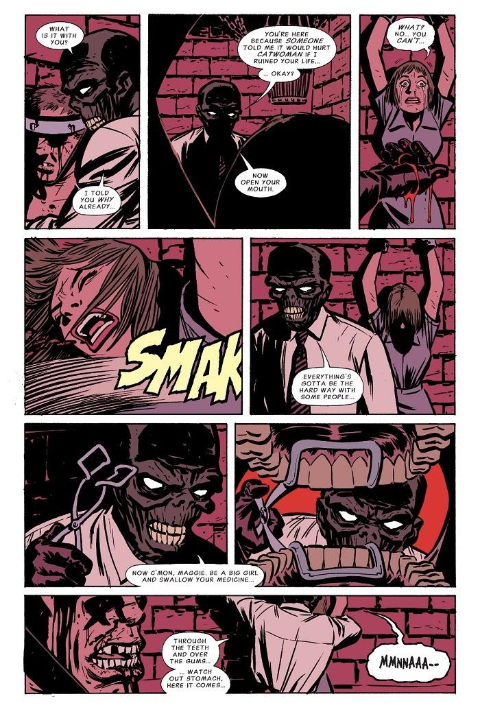 Черная Маска комикс Catwoman 15
