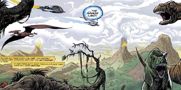 Дикая Земля марвел