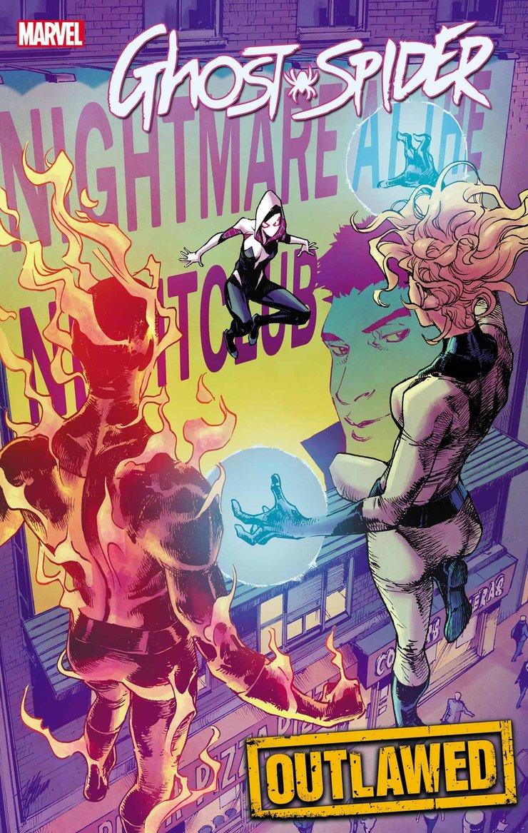 Фантастическая четверка будет охотиться на Призрака-Паука комикс Ghost Spider 10