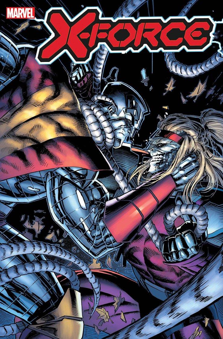 Колосс будет помогать Людям Икс сражаться с Матушкой Россией комикс X-Force 11