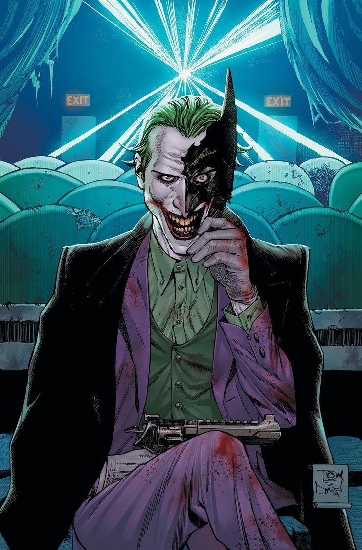 Новый комикс Война Джокера