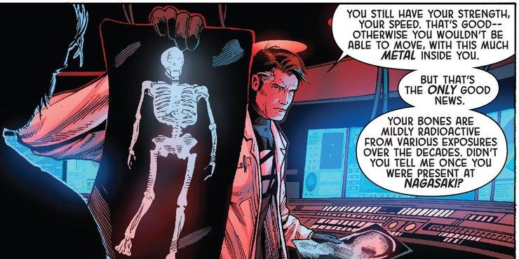 Почему адамантиевый скелет Росомахи не такой сильный