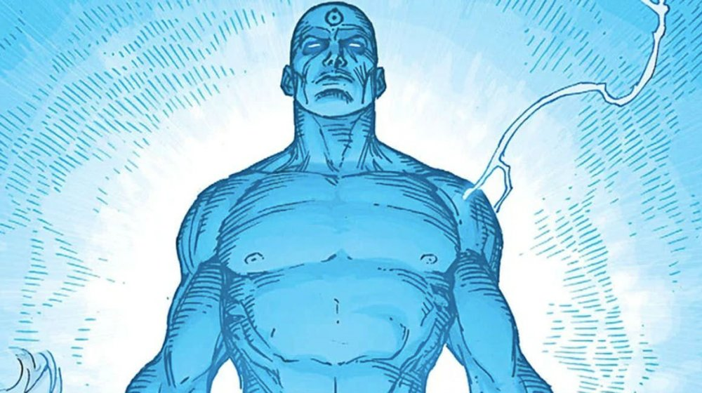 Супергерой DC Доктор Манхеттен практически бог