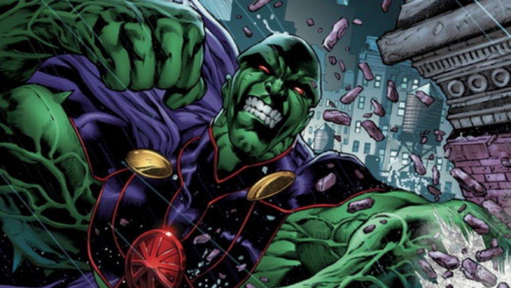 Супергерой DC Марсианский охотник ему практически нет равных