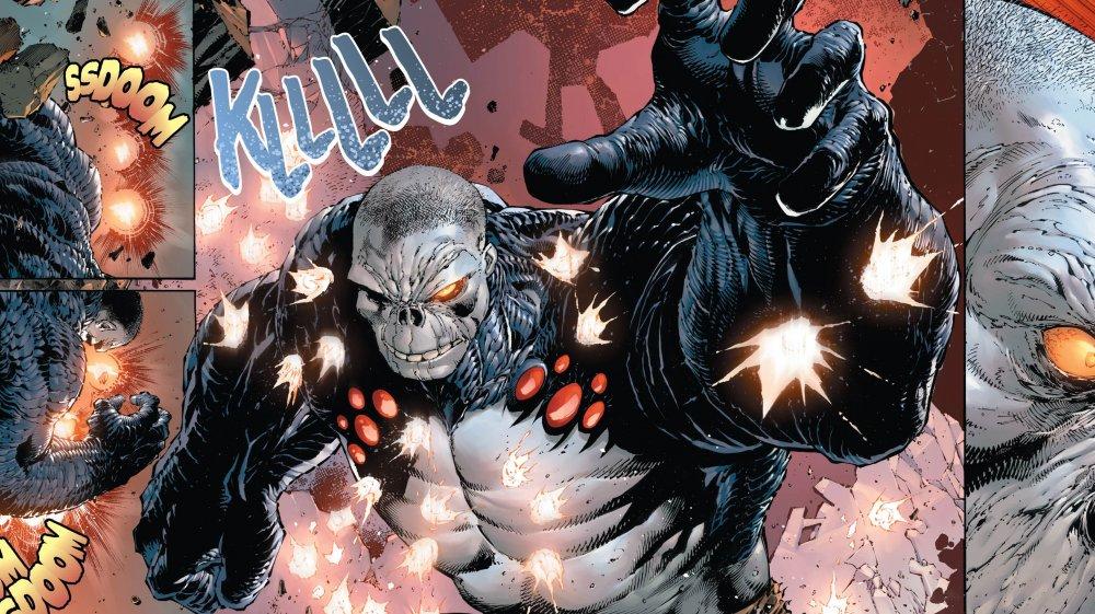 Супергерой DC Ущерб Настолько же сильный как и его имя