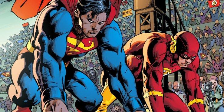 Супермен против Флэша