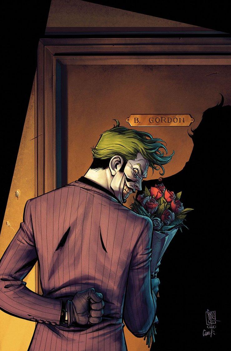 The Killing Joke комикс Джокер