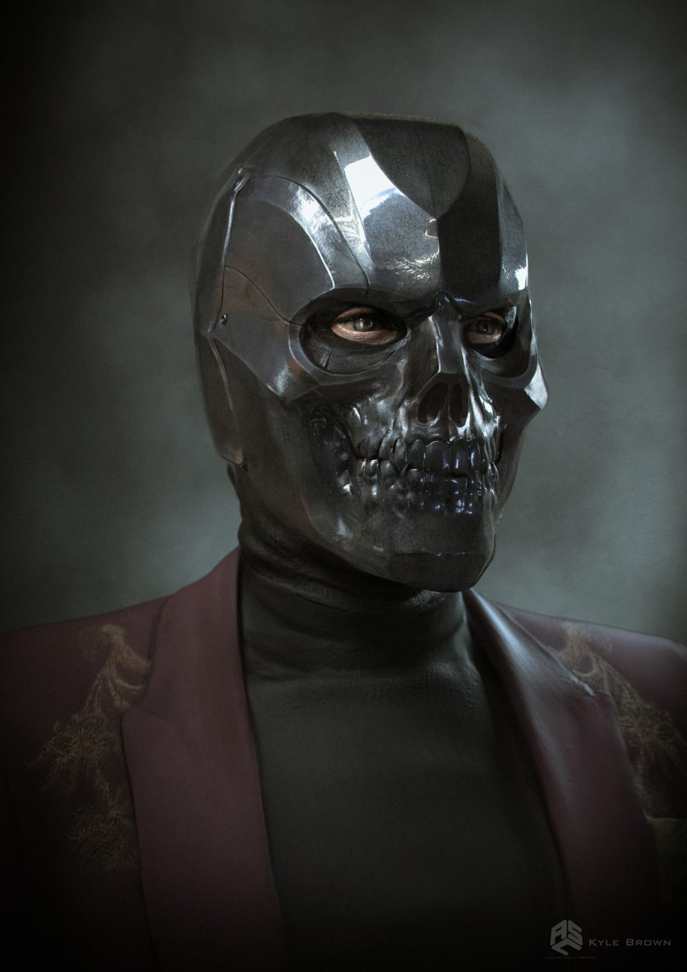 черная маска марвел