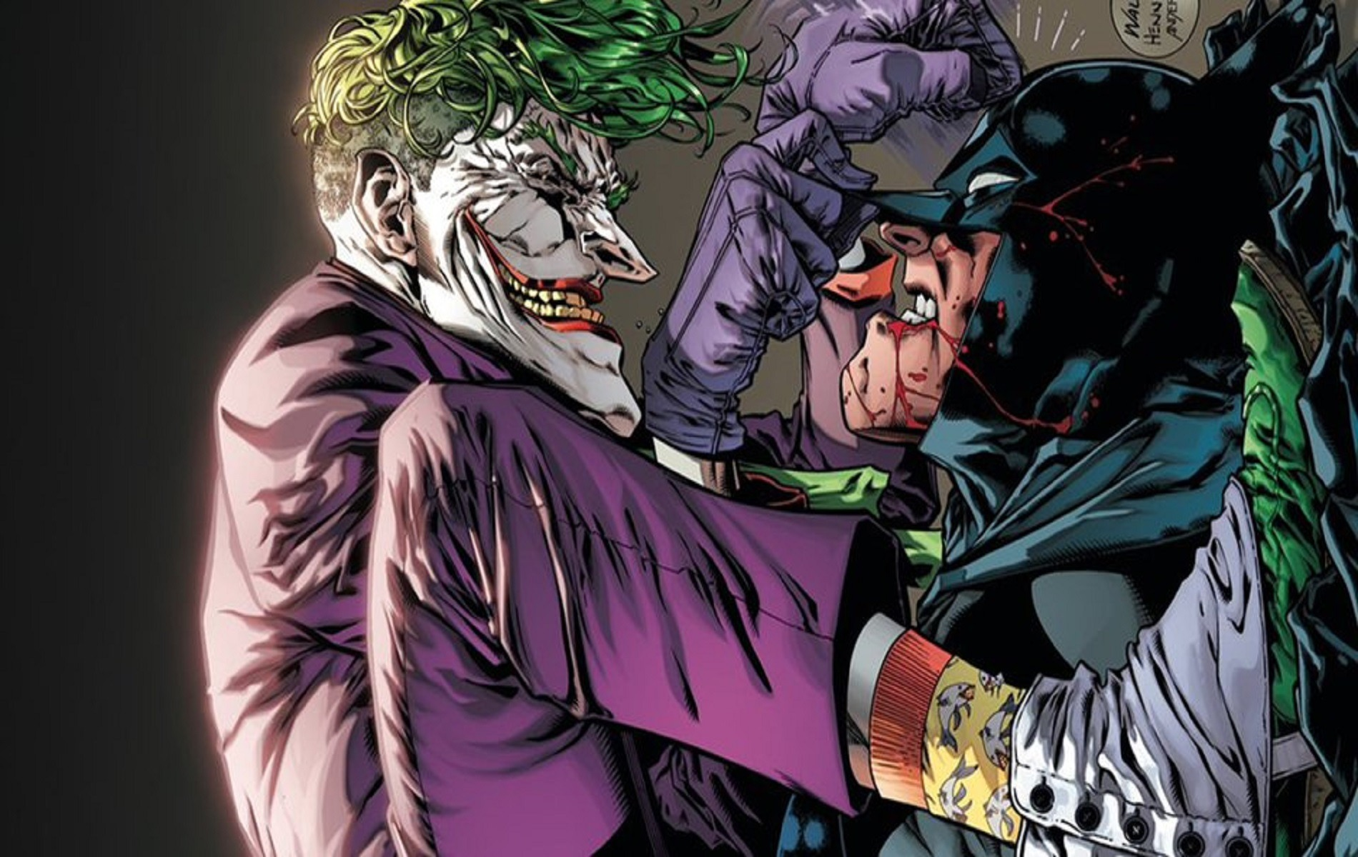 джокер знает кто такой бэтмен