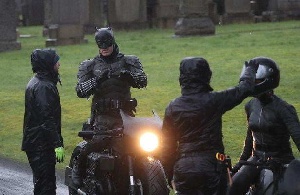 как выглядит мотоцикл нового бэтмена