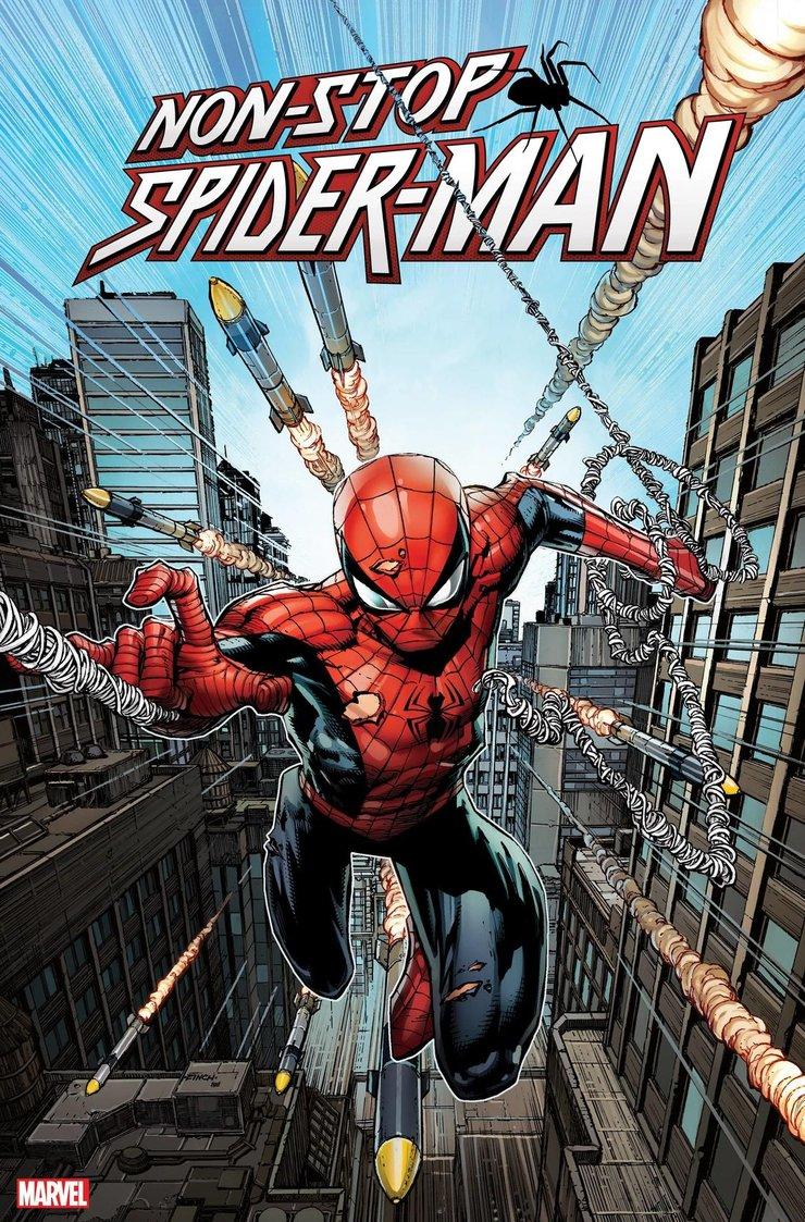 когда выйдет новый комикс о Человеке-пауке Non-Stop Spider-Man 1