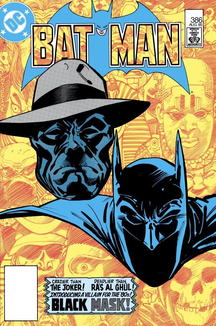 комикс Batman 386 Черная Маска