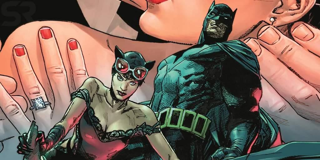 комикс Бэтмен и Женщина-кошка