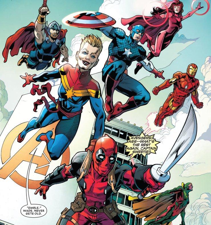 комикс Deadpool: The End