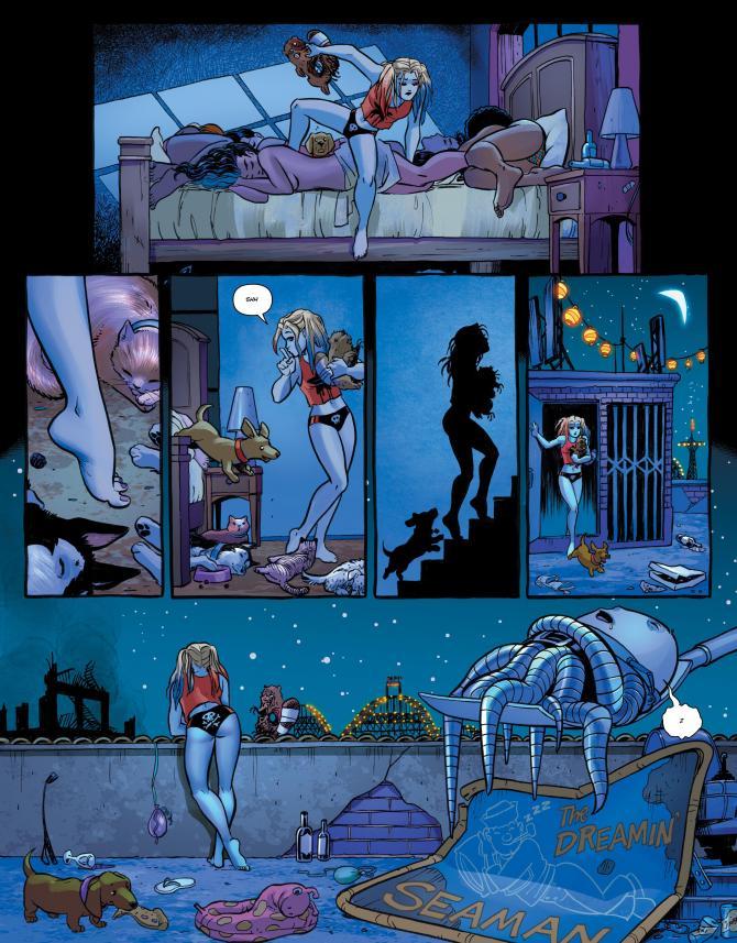 комикс Харли Квинн и Хищные Птицы читать