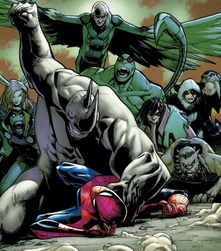 кто враги Человека-паука
