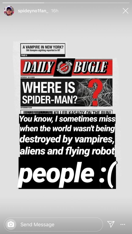 куда пропал человек паук The Daily Bugle