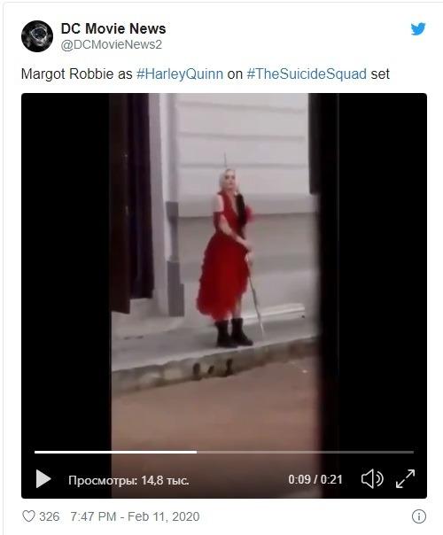 новый образ Марго Робби в фильме Харли Квинн