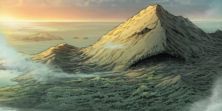 остров монстров марвел