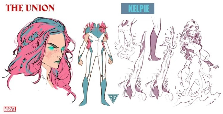 супергерой Kelpie марвел The Union