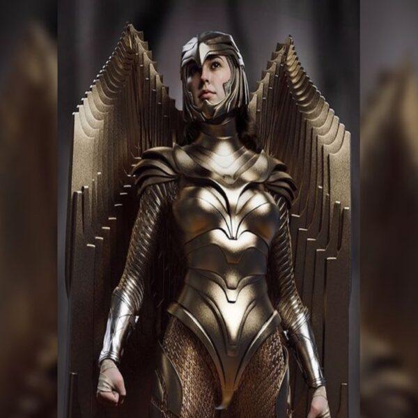 Чудо-женщина 1984 появились новые фото Брони Золотого орла