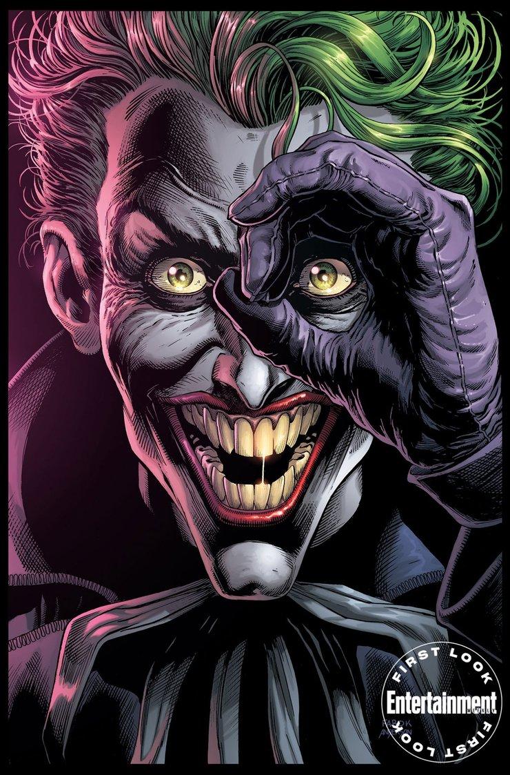 Комикс Три Джокера