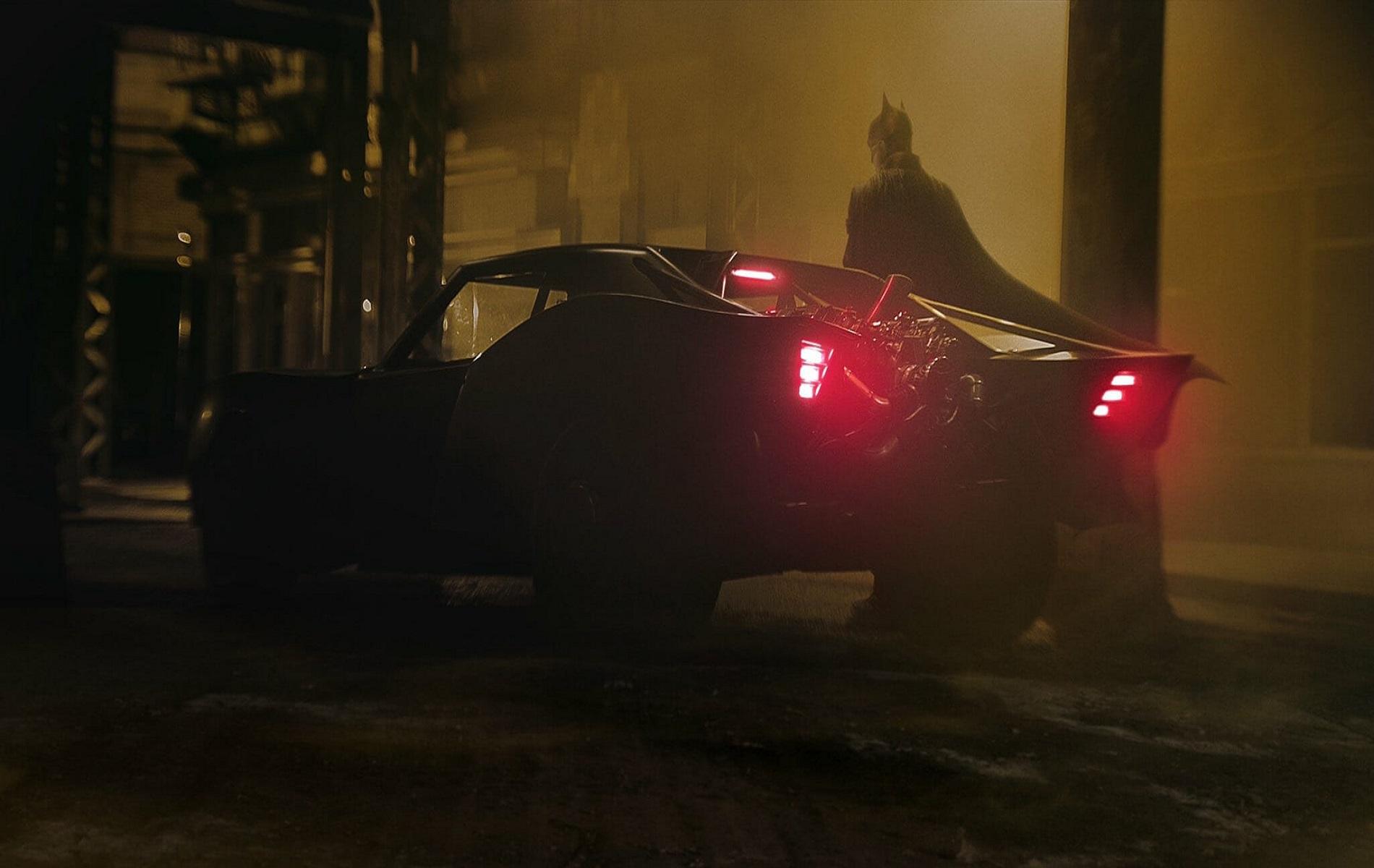 новый бэтмобиль Бэтмена