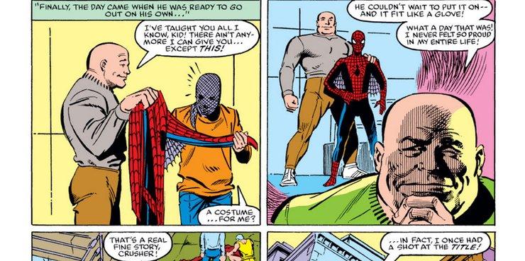 человек паук против крашера хогана