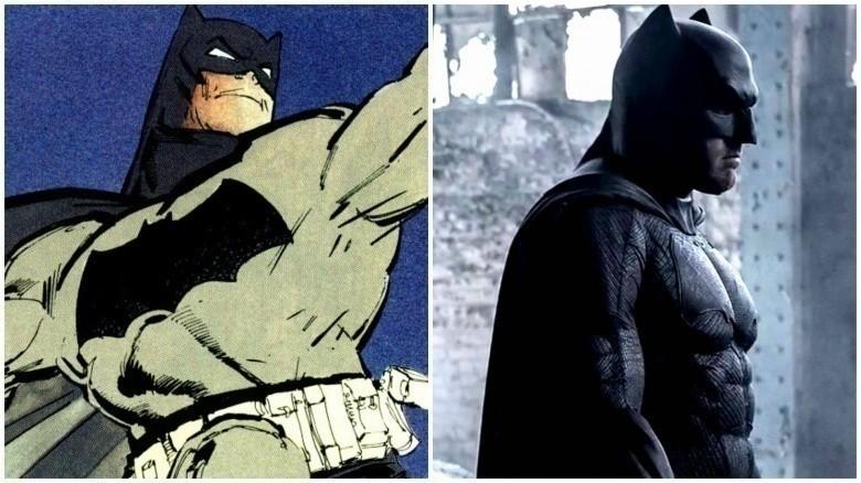 как выглядит Бэтмен персонажи DC