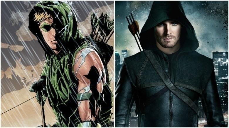 как выглядит Зеленая Стрела персонажи DC
