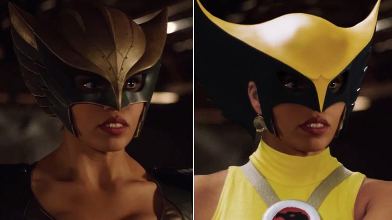 как выглядит Женщина-ястреб персонажи DC