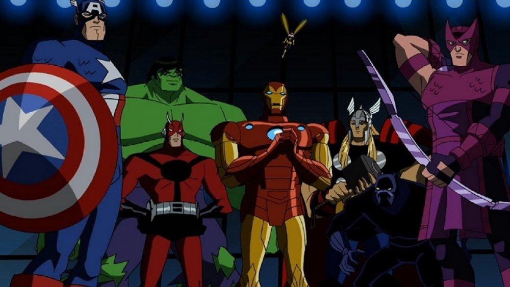 лучшие сериалы марвел Мстители Величайшие герои Земли