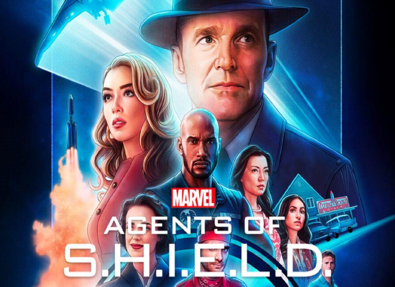 рекламный постер 7 сезона агенты щит