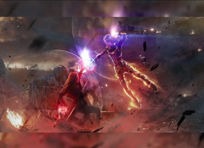 Капитан Марвел и Алая Ведьма сразились за звание самого сильного Мстителя