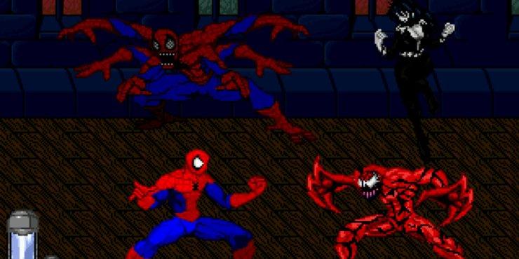 человек паук топовые игры