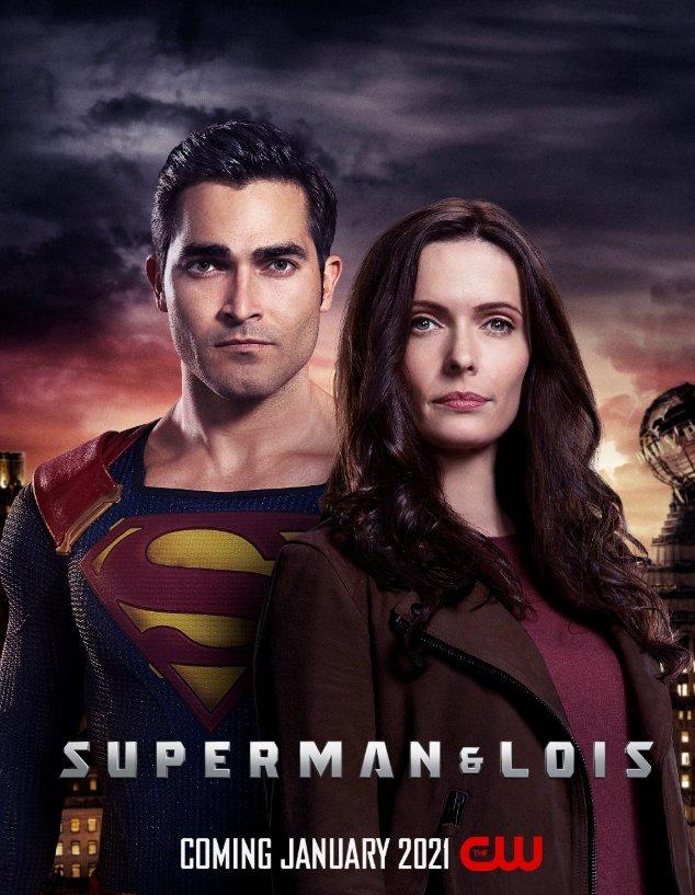 постер сериала Супермен и Лоис