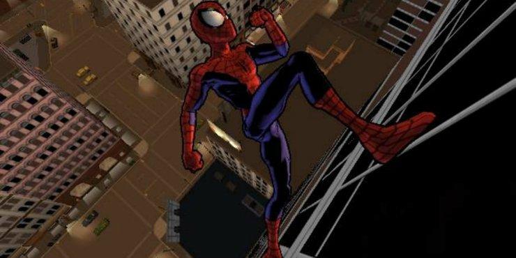 самая лучшая игра про человека паука