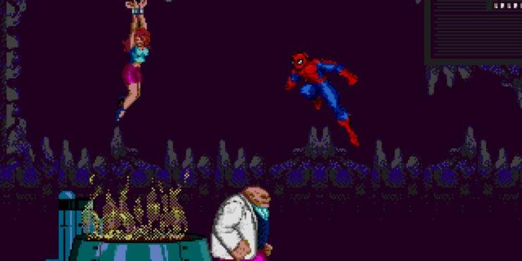в какую из игр о человеке пауке поиграть