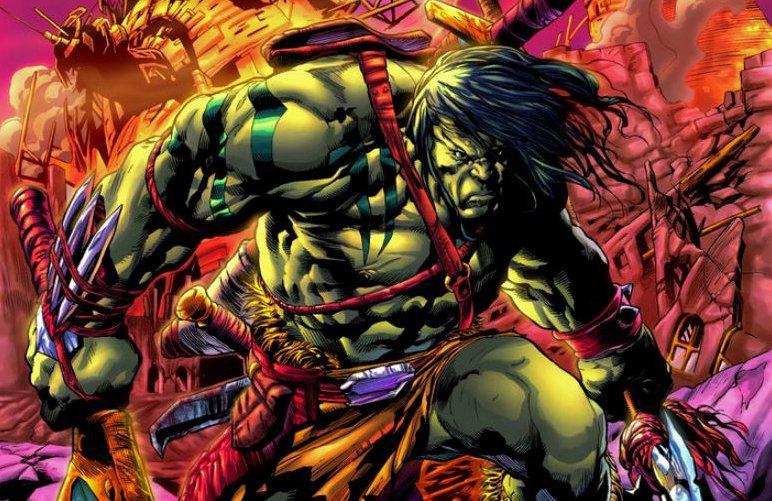самые сильные герои марвел Скаар (Skaar)