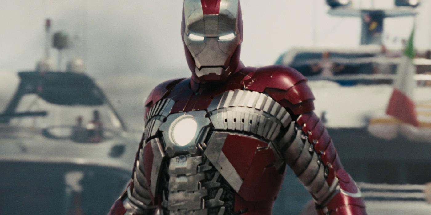 самые сильные костюмы железного человека Mark V