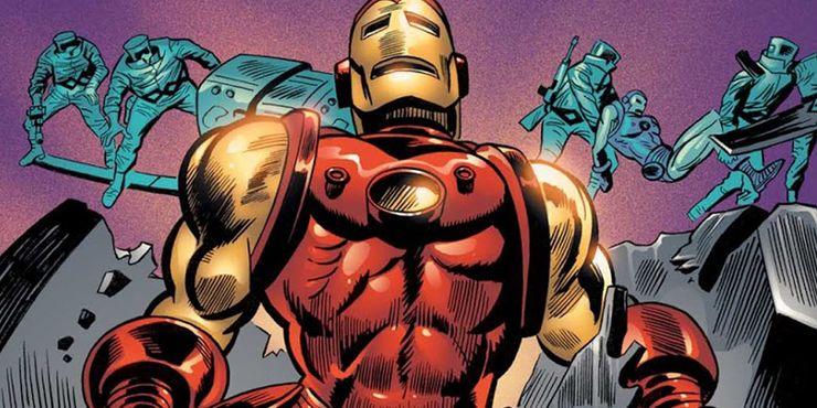 самые сильные костюмы железного человека Mark III