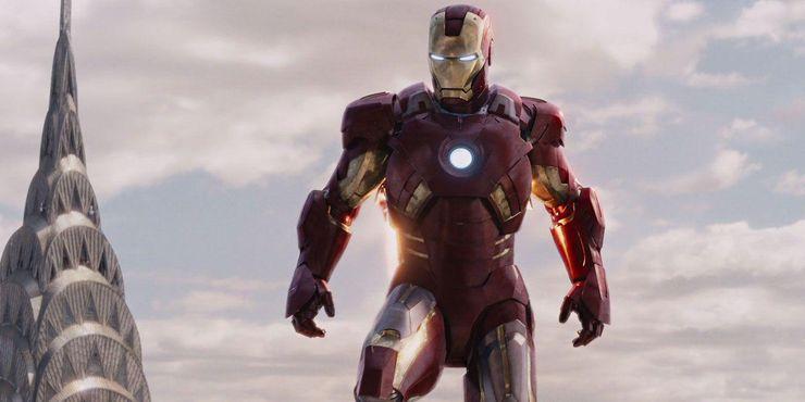 самые сильные костюмы железного человека Mark VII