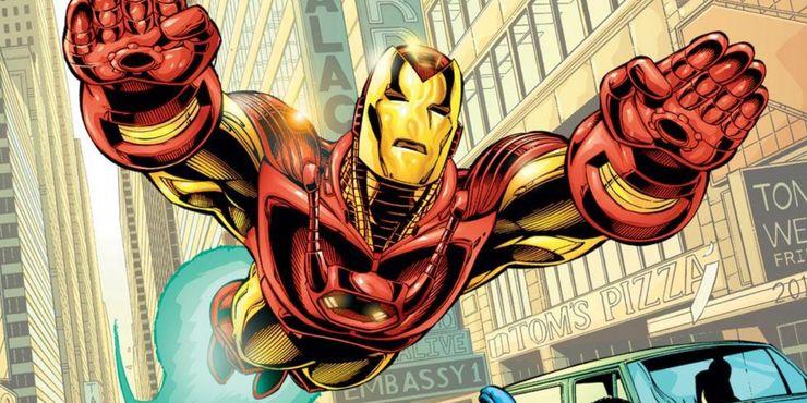 самые сильные костюмы железного человека Mark XVI