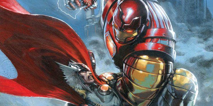самые сильные костюмы железного человека Mark XXII