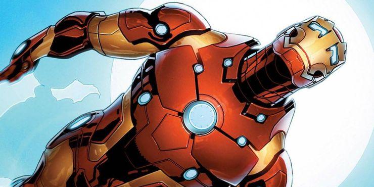 самые сильные костюмы железного человека Mark XXXVII