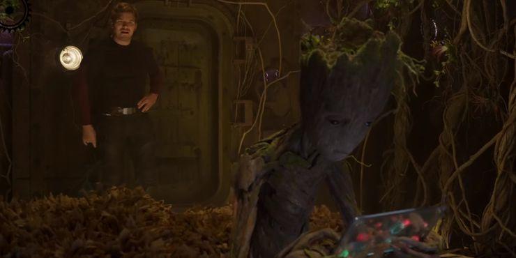 сцена после титров Стражи Галактики Часть 2